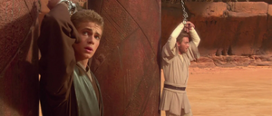 Anakin Skywalker Kenobi pillars
