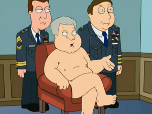 Bill Clinton is Butt Naked
