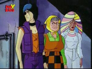 Callisto Annalee Tommy - X-Men Animated Series