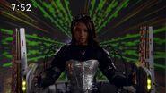 Escape piloting Megazord Zeta