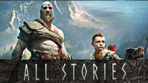 God of War - Every Story Kratos Tells Atreus Kratos Story-time