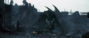 Male dragon fire