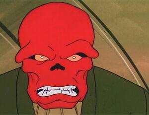 Red Skull SpiderMan 1981