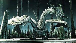 Dark Souls 2 Sinh, the Slumbering Dragon Boss Fight (4K 60fps)