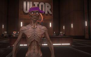 Dex in the Ultor Lobby