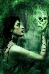 Invidia the Goddess of Envy