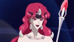 Queen Beryl in Sailor Moon Crystal