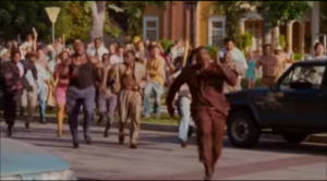 The Latimores got chased by a angry mob