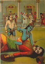 Kansa slain by Krishna.jpg