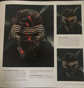 Kylo's mask art