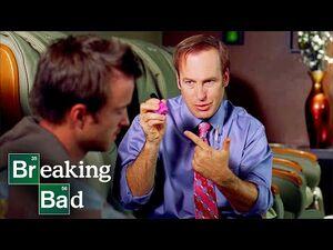 Saul Teaches Jesse Money Laundering - Kafkaesque - Breaking Bad