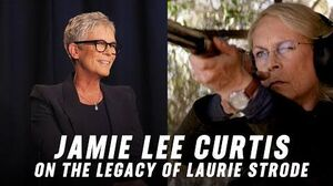 Jamie Lee Curtis on The Legacy of Halloween's Laurie Strode - Part 2