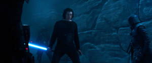 Kylo Faces The Knights Of Ren