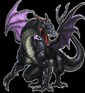Jet Black Dragon
