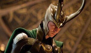 Loki with Helmet