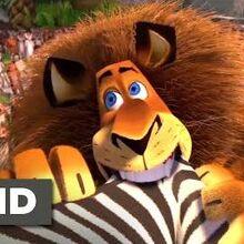 Madagascar (2005) - Alex Goes Crazy Scene (7 10) Movieclips