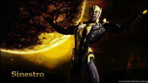 Sinestro Regime Injustice Presentation