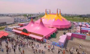 The Space Circus Tent