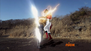 Vrak shocks Red Megaforce Ranger