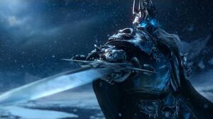 World of Warcraft-The Lich King awakens and ressurects Sindragosa