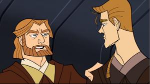 Anakin Skywalker Obi-Wan pass-on