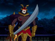 Black Samurai from Scooby Doo and The Samurai Sword