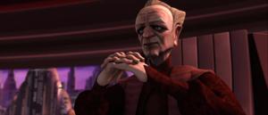 Chancellor Palpatine excuses