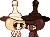 Chess Choco Cookie