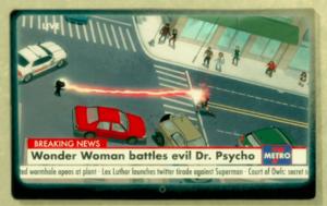 Doctor Psycho vs Wonder Woman