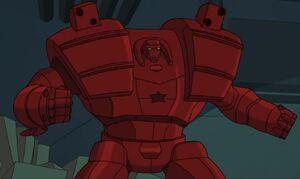 Galina Nemirovsky (Earth-TRN633) from Marvel's Spider-Man (animated series) Season 1 15 0001