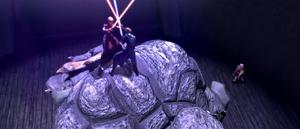 Asajj Skywalker Rancor back