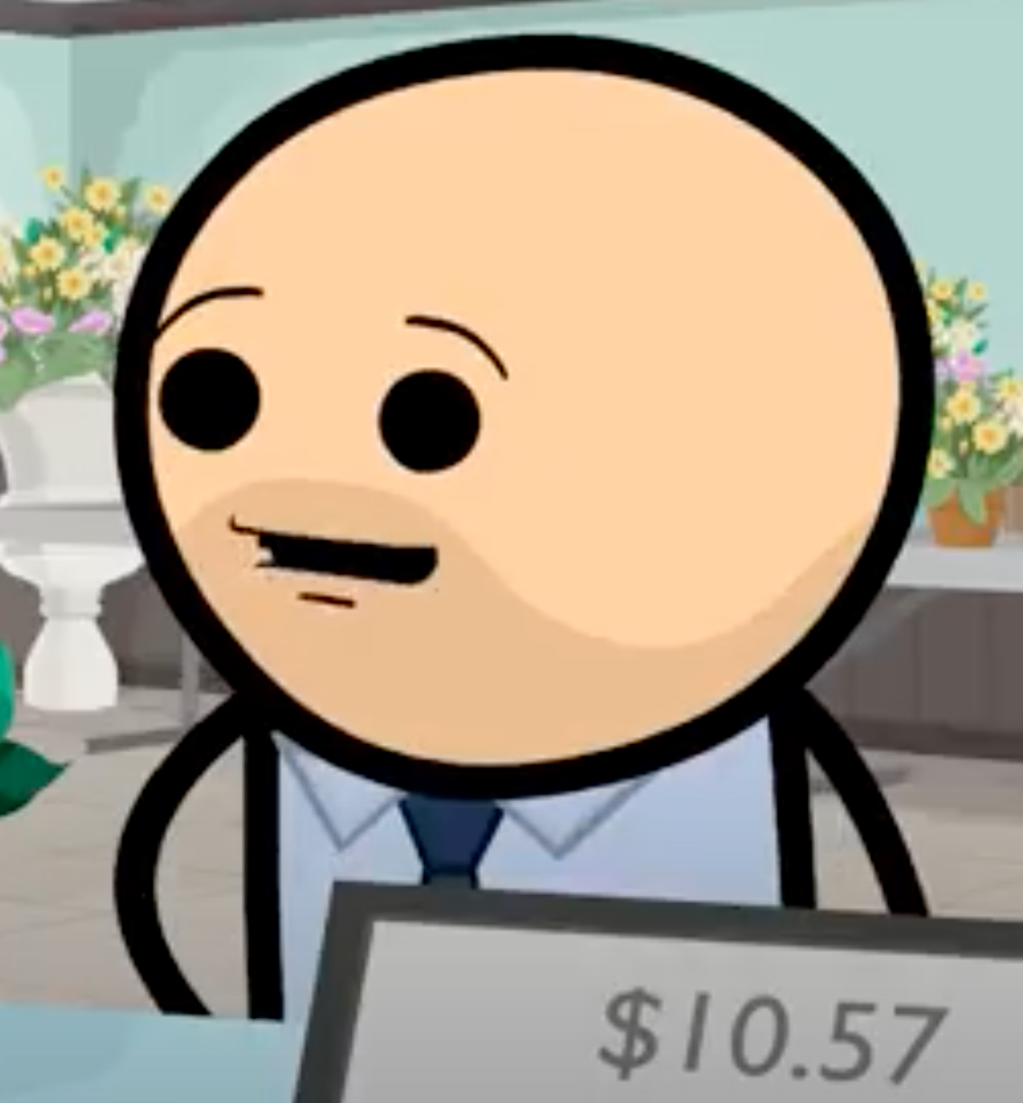 Bouquet Robber (Cyanide and Happiness)