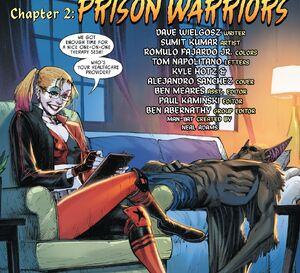 Harley Quinn and Man-Bat Prime Earth 0001