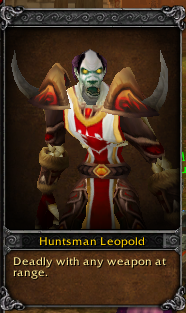 Huntsman Leopold