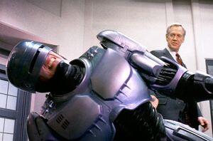 RoboCop and Dick Jones