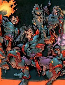 Si-Fan Cyber-Ninjas (X-Men Vol 2 62)
