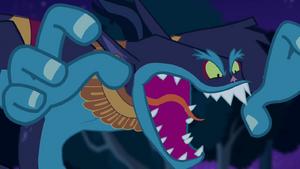 Ahuizotl roaring S04E04