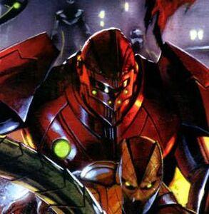 Crimson Dynamo IX (Earth-616) 001