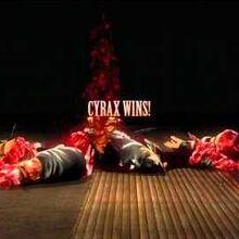 "Cyrax's ""Nothing But Net"" Fatality (Mortal Kombat 9)"