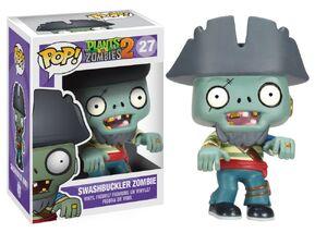 Funko POP! Games Plants vs Zombies Figure Zombie Pirate VINYL