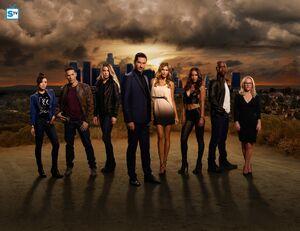Lucifer S2 Cast Promotional Photo