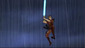 Skywalker air-twirl