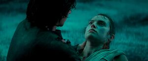 Ben holds Rey 3