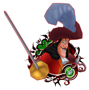 Captain Hook 6★ KHUX