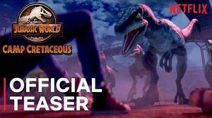Jurassic World Camp Cretaceous Official Teaser Netflix