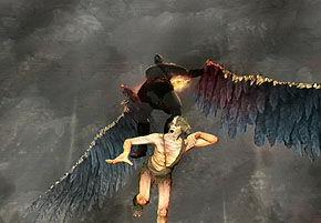Icarus' Death