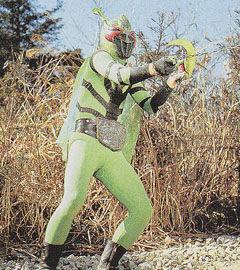 Mantis Man Shocker Kaijin