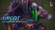 Urgot Champion Spotlight Gameplay - League of Legends