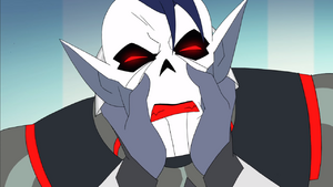 Horde Prime reading Hordak's mind