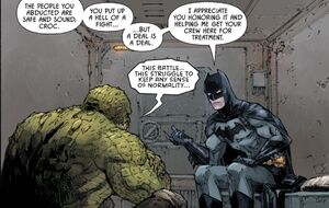 Killer Croc and Batman Prime Earth 0002